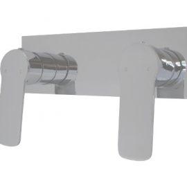 Akemi Dual Shower Mixer Chrome