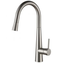 Sonix Pullout Sink Mixer Brushed Nickel