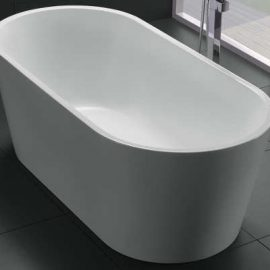 Akemi Freestanding Bath 1700mm – White