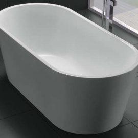 Akemi Freestanding Bath 1500mm White