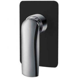 Celine Shower Mixer Black and Chrome