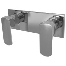 Konti Dual Shower Mixer Chrome