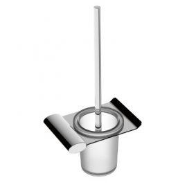 Celine Toilet Brush Holder Chrome