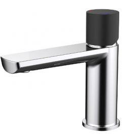 Finesa Basin Mixer Chrome & Black