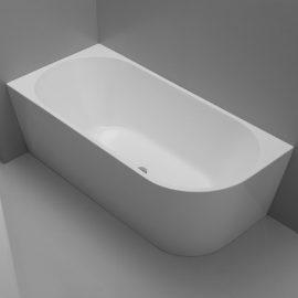 Kiato Corner Freestanding Bath LH 1700mm