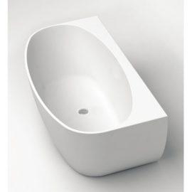Celine Wall Faced Bath 1700mm White