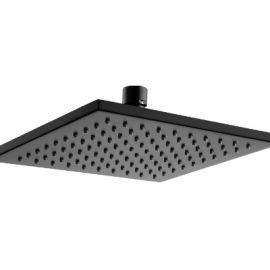 Kiato Square Overhead Shower 250mm Black