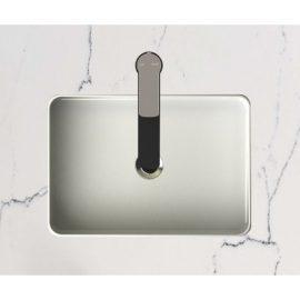 Akemi Ultra Fine Countertop Basin White