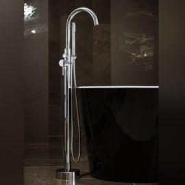 Cioso Bath Filler W/Handshower Chrome